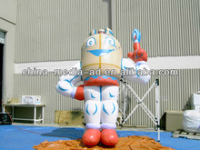 custom giant Outdoor inflatable cartoon model for promotion