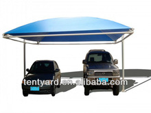 6*6m used for two cars carport canopy