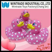 Valentine Heart Printed Duck Set