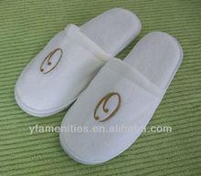 2012 low price EVA Chinese velvet hotel slippers