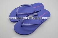2013 models purple shoe fashionable women nude slipper