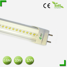 Modern and elegant in fashion g13 CE&RoHS dimming led tube light 0.6 with patent design
