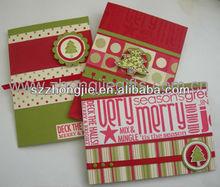 2012 New Design Christmas Greeting Card