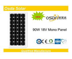 ODA90-18-M Mono 90W solar panels with high efficiency