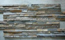 Decorative rusty ledge culture slate stone