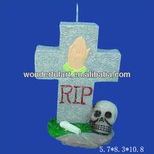 wholesale tombstone halloween candle
