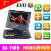 On Sale Price USD27 7 inch portable dvd player with USB