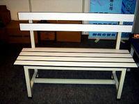 waterproof phenolic sports gym bench