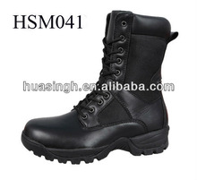 original design 2012 hoot selling black classical man army boots in black
