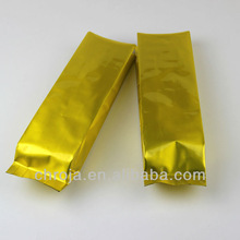 2012 Gloden High Quality Foil Coffee Gusseted Bag