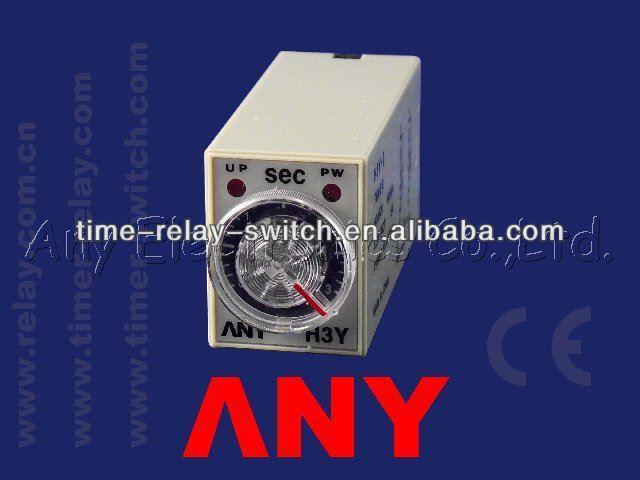Verzögerungsschalter H3Y-2 H3Y-4 IC des Timers 12v Timer