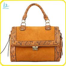 2013 new design suede leather fashion handbag
