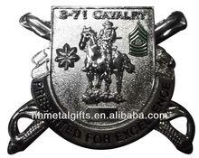 Custom military rank insignia badge