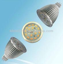 2012 Popular High quality MR16 5630 8W SMD LED Spotlight