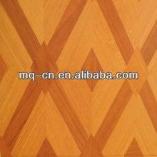 2012 high quality brown core 12mm laminate parquet Floor
