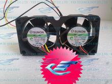 SUNON 40*40*20mm 4CM 12V fan Mini Cooper Case Server Bi-fan KDE1204PKV2
