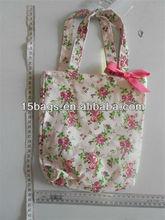 2012 fashion cotton fabric handbag