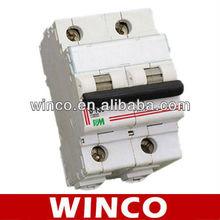 2P DX NC Miniature Circuit Breaker MCB