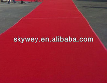 Top grade red carpet party with 100%polyester