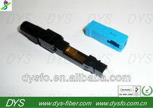 sc upc optical fiber fast connector