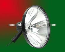 new 240mm hid handheld search light ,handheld scope light,scope mounted lights