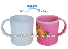 20 years' experience color changing plastic 10oz cup