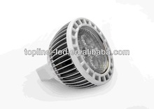 MR16 E27 GU10 3W led spot 80lm/w