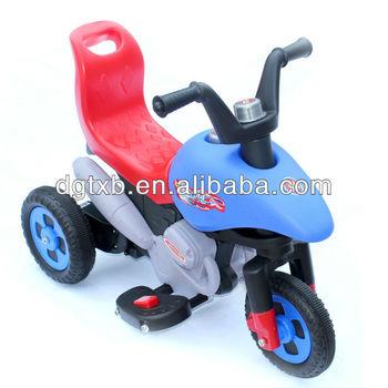 child electric motorcycles with 6V battery safe backrest 8012