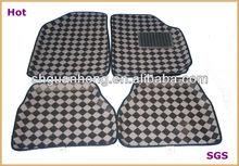 2012 newest leather 3D car floor carpet