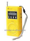 small fm gift radio with speaker radio
