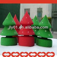 2012 hot sale sponge Christmas trees