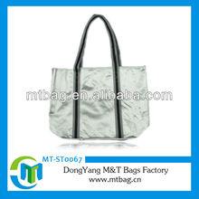 2013 lady women blank tote bag satin bags wholesale