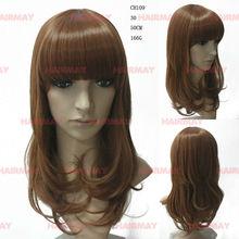 korea synthetic fiber medium fashion wig