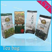 2012 hot sale!! Top quality gravure printed packaging plastic tea bags