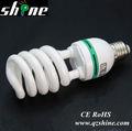 Lámpara ahorro de energía espiral
