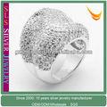 xmas regalo moda 925 anello in argento