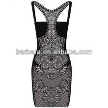 career dress bandage dress combo lace dress H282