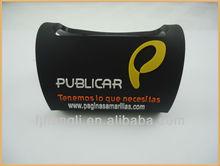 2012 customized soft pvc phone holder