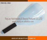 Salon blue plastic SPA facial shield hair spray protective shield