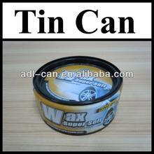Car Wax Tin Cans Packing Factory kunlun brand paraffin wax