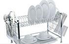 Many kinds of dish display rack