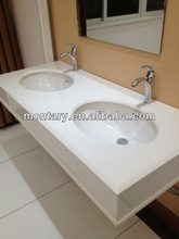2012 New White Crystallized Glass Washbasin Design