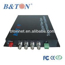Fibre Optic/ Fiber Optic Video/TV Transmitter ,1~64 channel with Data/Audio/Ethernet