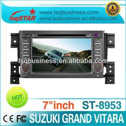 cheap car dvd For suzuki Grand Vitara With gps navigation,bluetooth,RDS,PIP,6V-cdc,ipod control,steering wheel control...