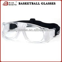 Crystal clear basketball eyewear