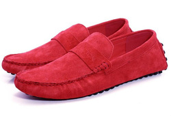 cheap red suede man's shoes man shoes style