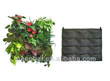 bag plant/ bags for soil--make up by greenbar wall planting bag