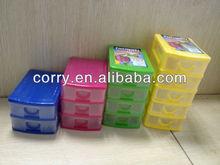 Mini Plastic Stackable Storage Drawer
