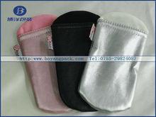 pink black white PU leather mobile phone bag