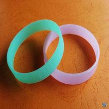incredible luminous Silicone bracelet with customized logo